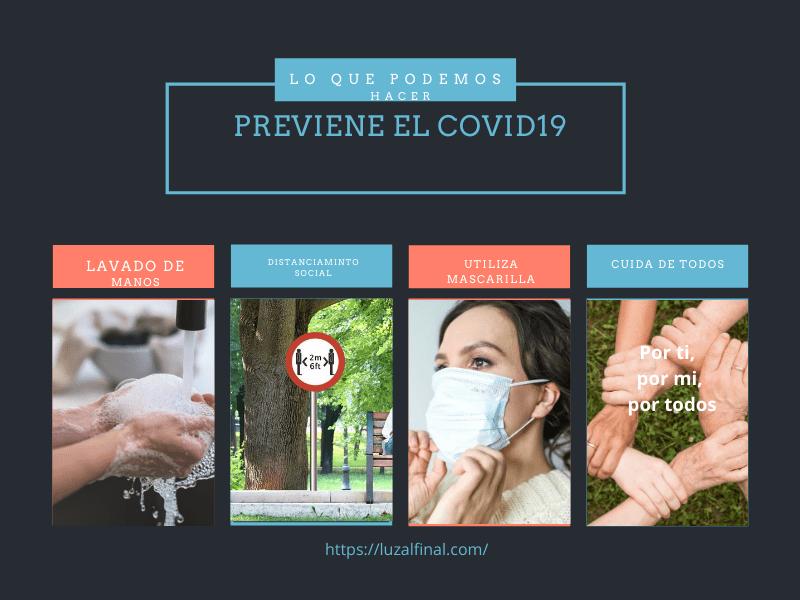 Evita el Covid 19